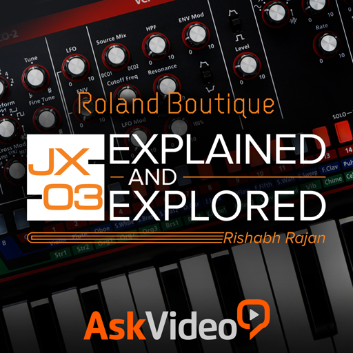 Tour of the Roland Boutique JX-03 Mac OS X