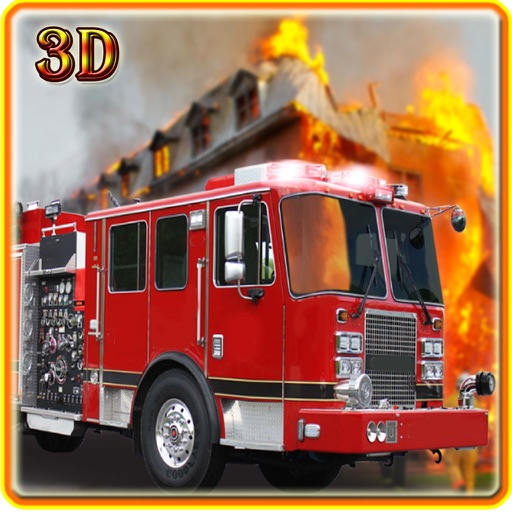 Fire Truck Driving 2016 Adventure – Real Firefighter Simulator with Emergency Parking and Fire Brigade Sirens iOS App