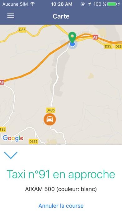 Taxi DijonCapture d'écran de 4