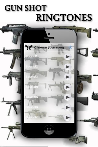Gun Shot Ringtones screenshot 1
