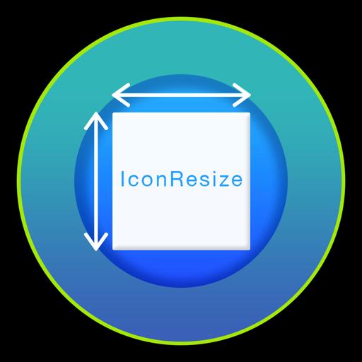 IconsResizer Mac OS X