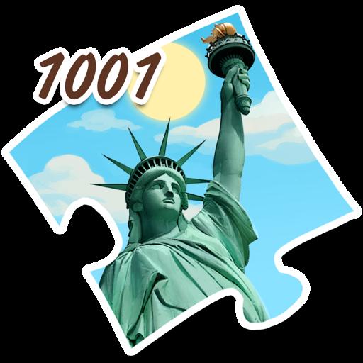 1001 Пазл Вокруг Света. Америка