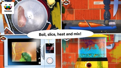 Screenshot #8 for Toca Kitchen Monsters