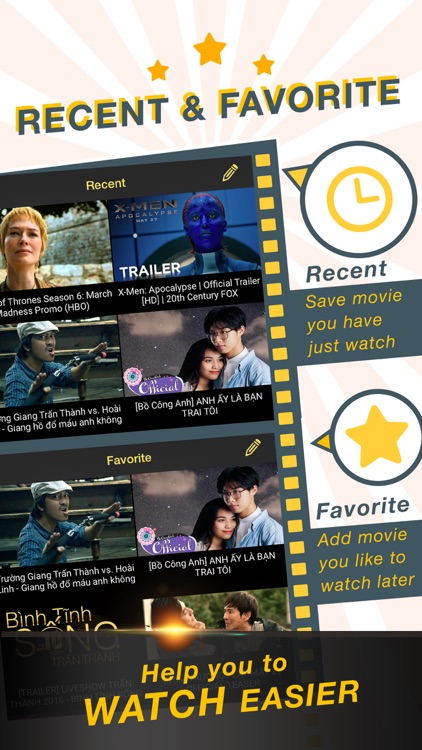 Cinema HD Pro - Movies Preview & Television Show trailer for Netflix & HBO  by Thu Trang