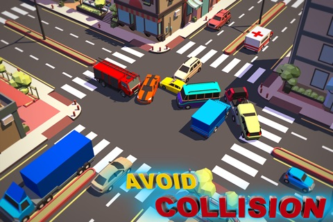 Traffic Chaos 3D screenshot 1