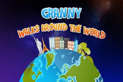 Granny Walks Around The World screenshot 1