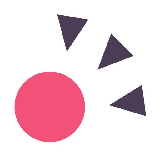 Ball's Spiky Road iOS App