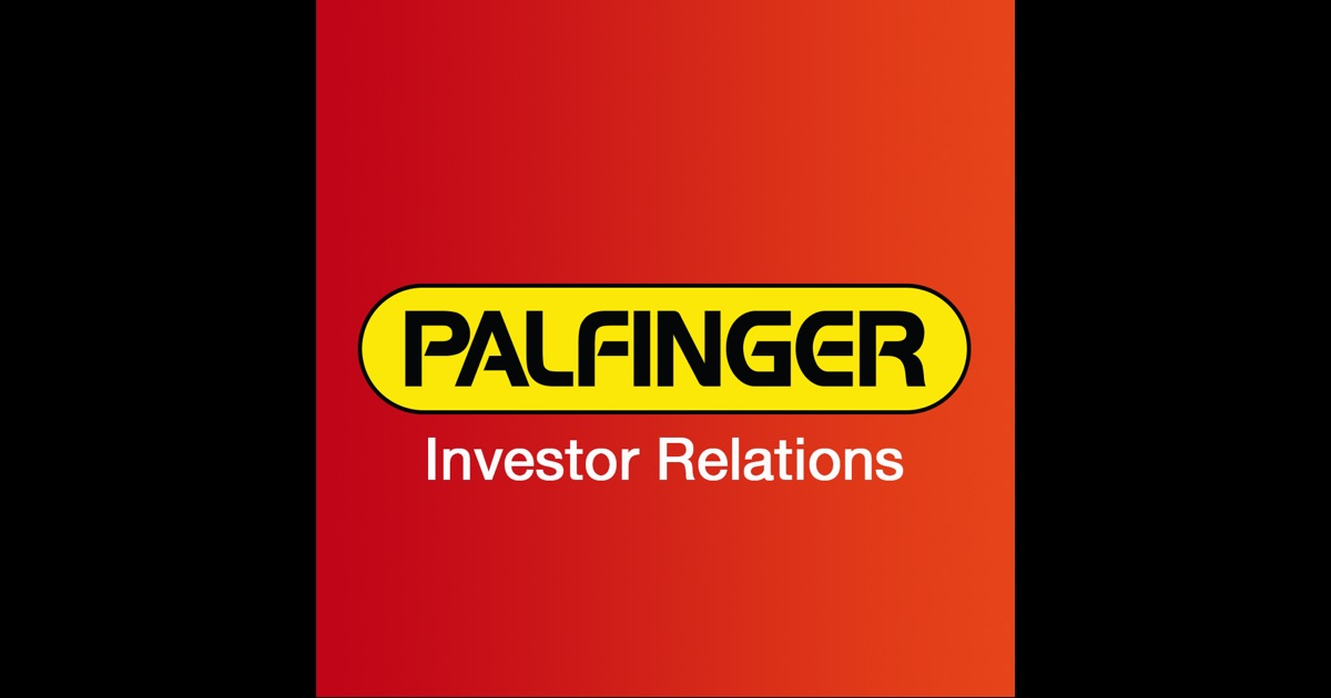Palfinger Investor Relations on the App Store