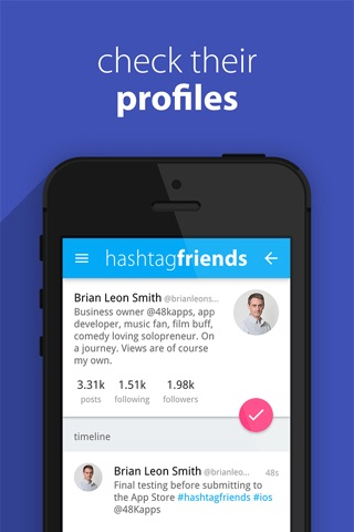 hashtagfriends screenshot 4