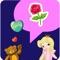 download LOVE Stickers & Emoji Art for Valentines Day Messages Pro