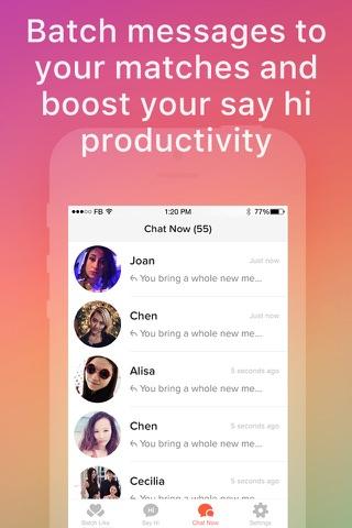 Fire for Tinder - Boost Match Plus Auto Liker Tool screenshot 2