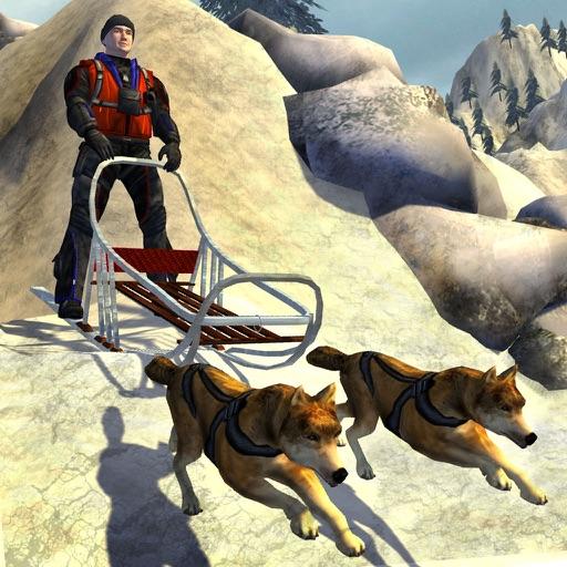 Snow Dog Sledge Simulator 3D iOS App