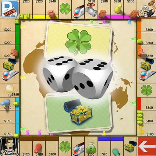 Ренто - игра с кубиком доска