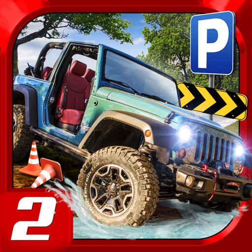 4x4 offroad truck trials parking simulator 2 gratuit jeux de voiture de course par play with. Black Bedroom Furniture Sets. Home Design Ideas