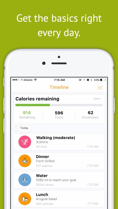 download Magra - Calorie Counter, Pedometer and Social Fitness Community apps 1