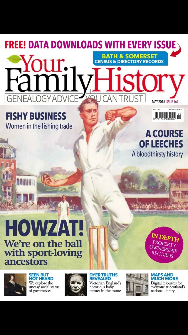 download Your Family History Magazine | genealogy and family tree research advice and tips apps 4