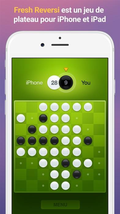 Screenshot #1 pour Fresh Reversi - Un jeu de plateau inspiré d'Othell