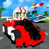 3D Super Block Kart - Blocky Pixel Go-Kart Road Racing Game Pro