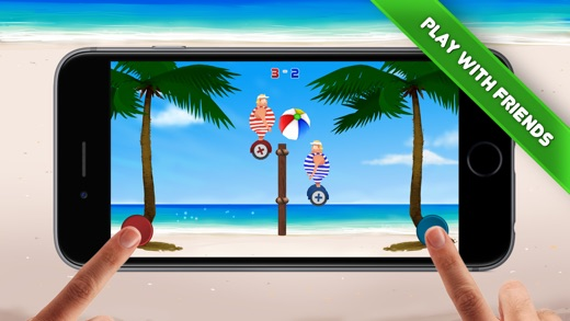 Volley Sumos - Two-player versus game Screenshot