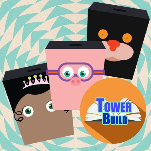 Build a Tower Blocks Stack Straight Game For Kids Super Why Edition iOS App