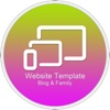 Website Template (Blog & Family) With Html Files Pack9 2003 access templates