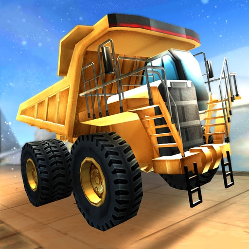 Mountain Mining Ice Road Truck iOS App