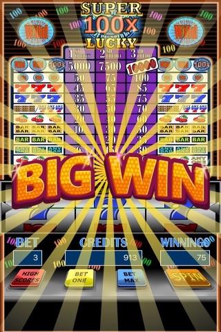 100x Super Lucky Slot Machine screenshot 2