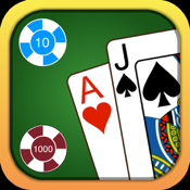 Blackjack - Free Casino Style Blackjack 21 Gambling Simulator icon