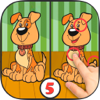 Spot and find differences of pictures & color images – braitraining game