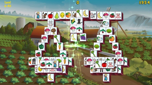 Barnyard Mahjong 3 Screenshot