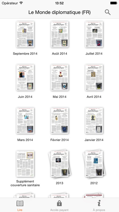 Capture d'écran iPhone 5