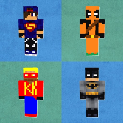HD SuperHero Skins Best Skins For Minecraft PE PC By Paritaben - Skins para minecraft pc
