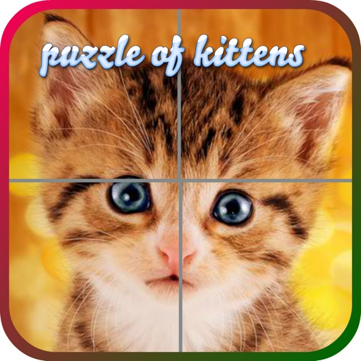 Puzzles of Kittens Free iOS App