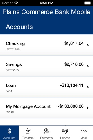 Plains Commerce Bank Mobile screenshot 3