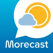 Wetter - Radar - Sturm mit MORECAST App