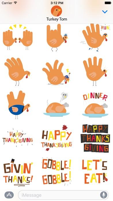download Hand Turkey Stickers apps 1