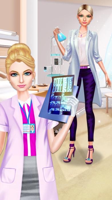 download Médico chica estilista de moda apps 4