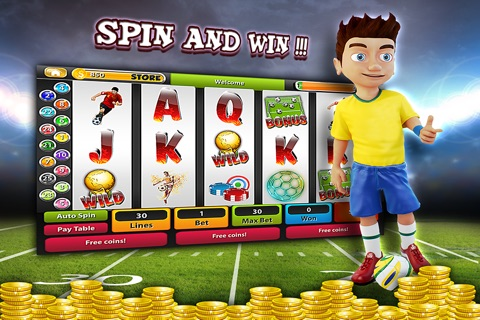 Soccer Champions Slots Machine Casino - Spin and Win The Big World League Cup of Cash Bonus! screenshot 2