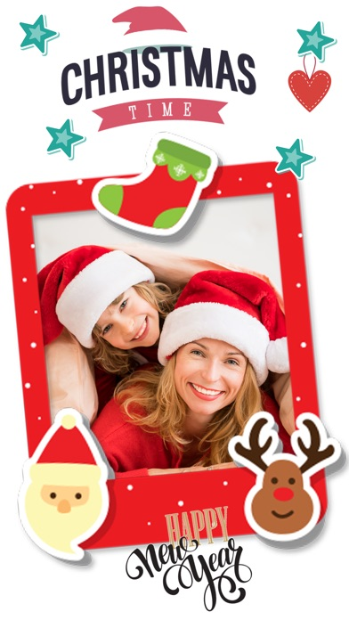 Christmas photo effects elf yourself santa booth on the app store iphone screenshot 4 solutioingenieria Image collections