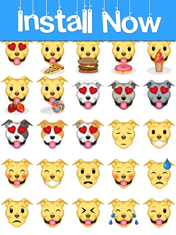 Pitmoji - Pit Bull Emoji & Stickers