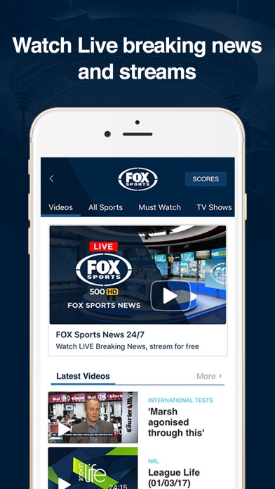 FOX Sports Official App screenshot one