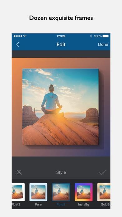 Screenshot of InFrame - Editor di fotos3