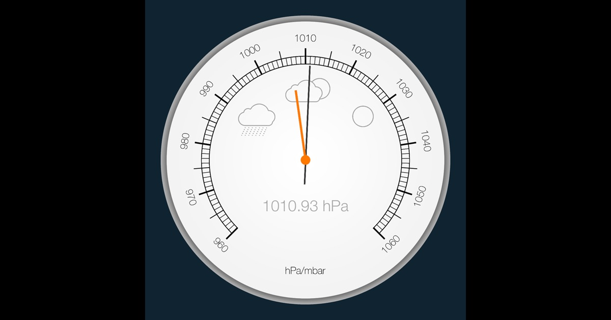 barometer altimeter for iphone ipad on the app store. Black Bedroom Furniture Sets. Home Design Ideas