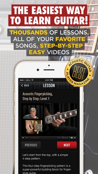 download Guitar Lessons by Guitar Tricks appstore review