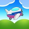 Bouncing AeroPlane Racing Madness Pro - best sky racing arcade game racing
