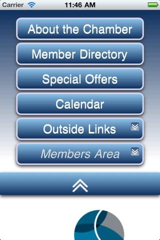 Corvallis Chamber of Commerce screenshot 2