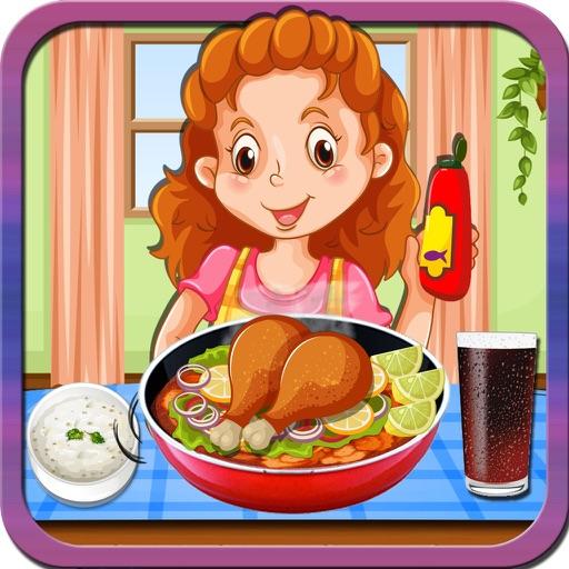Chicken Karahi Korma Maker – Crazy cooking mania game for kids iOS App