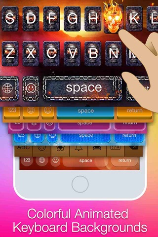 YeahKeys - Customize your keyboard screenshot 1