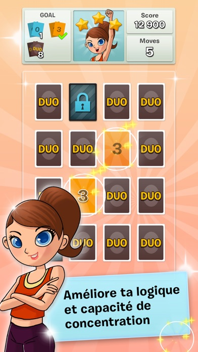 Screenshot DUO! Pairs & Brain Fitness Game