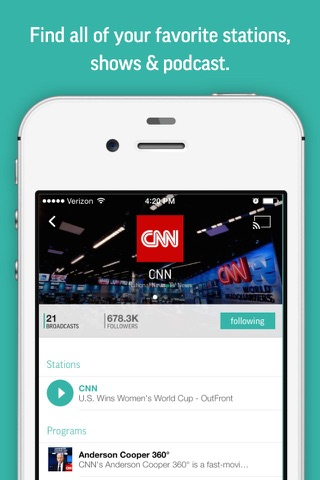 TuneIn - Stream Radio & NFL screenshot 4